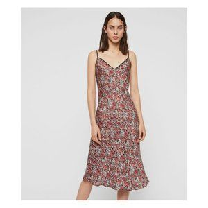 NEW All Saints Hennie Wilde Floral Slip Dress XS